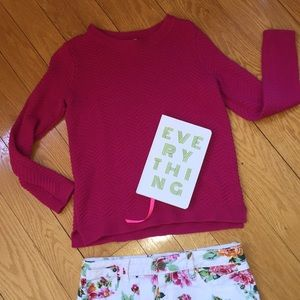 Old Navy hot pink sweater